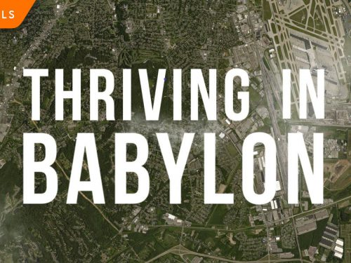 Thriving In Babylon Small Group Study